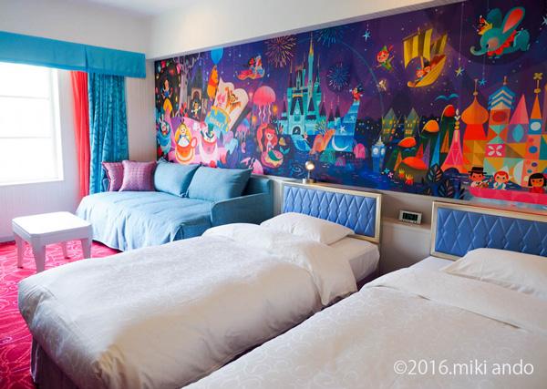 東京ディズニーセレブレーションホテル「ウィッシュ」客室