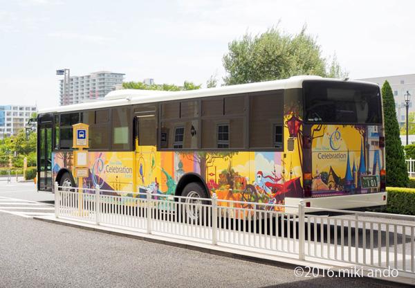 東京ディズニーセレブレーションホテル「ウィッシュ」シャトルバス