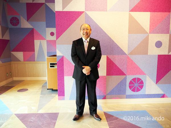 東京ディズニーセレブレーションホテル「ウィッシュ」社長