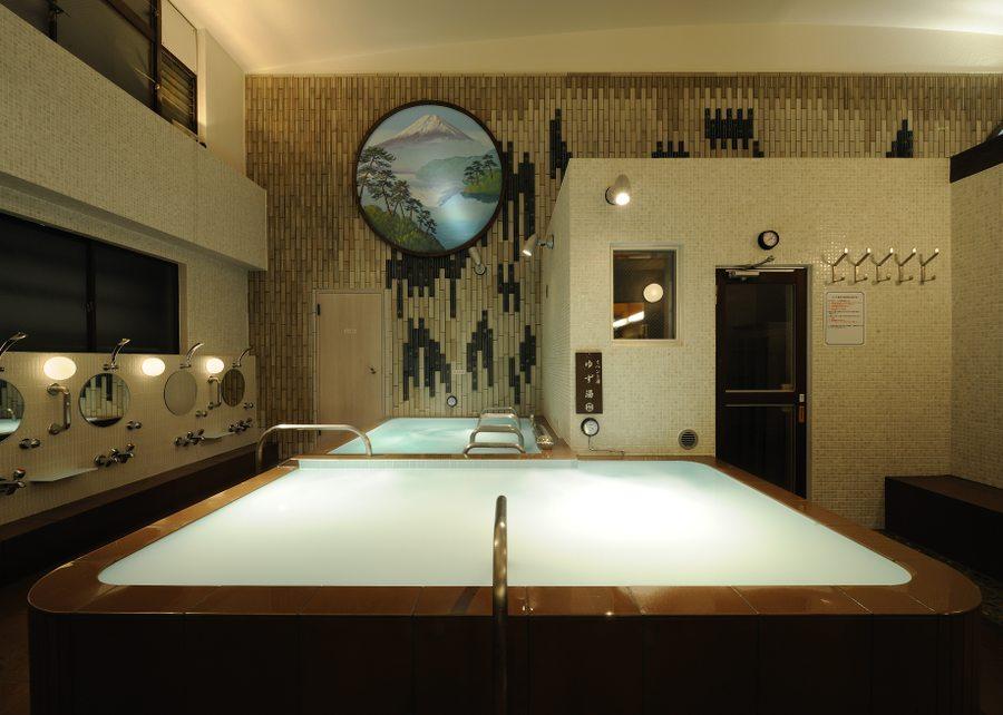 文化浴泉のお風呂
