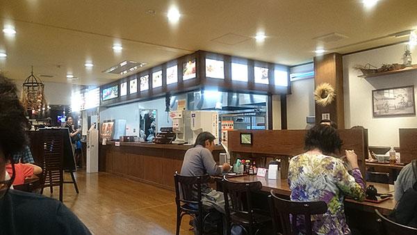 釈迦堂PA(上り)レストラン