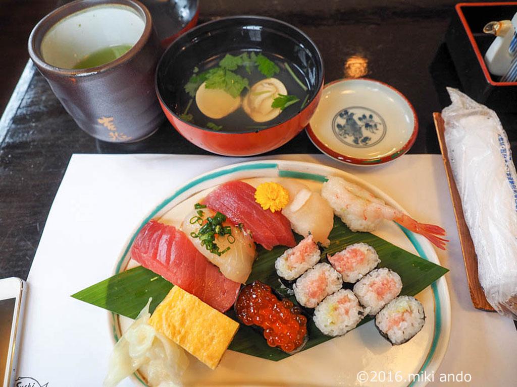 葉山 お寿司 吉兆 ランチ