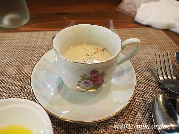京都「ヒグチ亭」ランチスープ