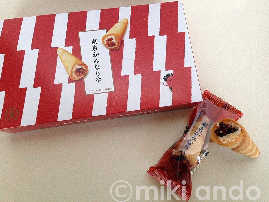驚きの新食感!東京駅限定「東京かみなりや」のお土産が面白い