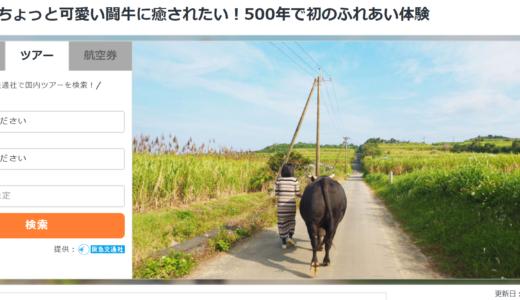 仕事:徳之島で闘牛革命。500年で初、闘牛ふれあい体験スタート(LINEトラベルjp)