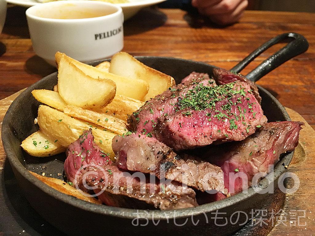 静岡駅周辺「ペリカーノ」で平日お得な「ガッツリ肉三昧」ランチ!