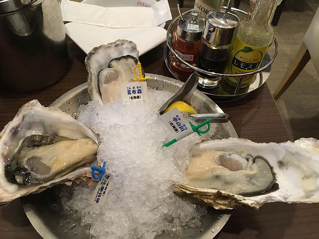 おいしい牡蠣を1年中食べるならココ!ジャックポット丸の内