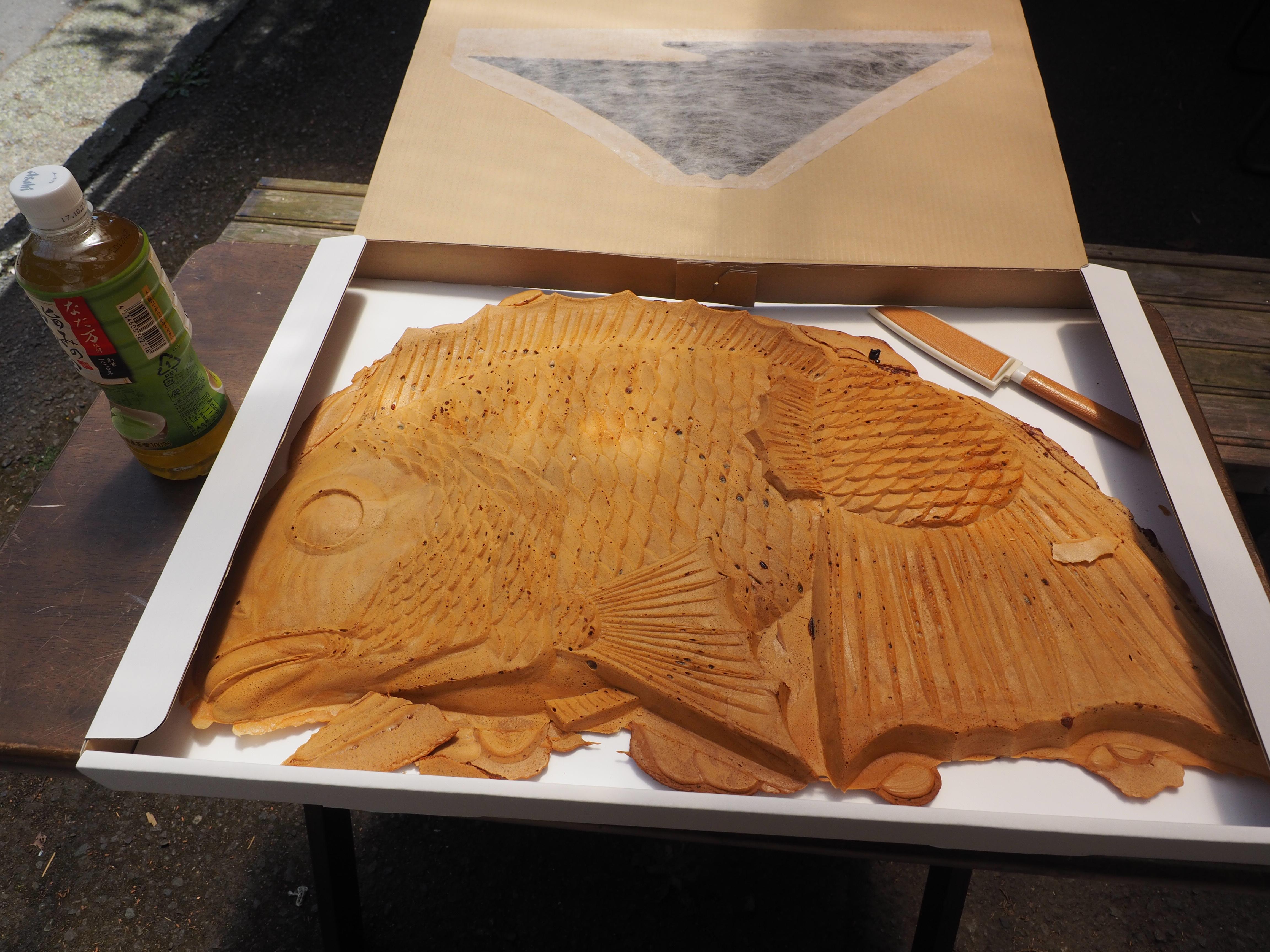 【たびねす記事更新】静岡の世界一大きい鯛焼き
