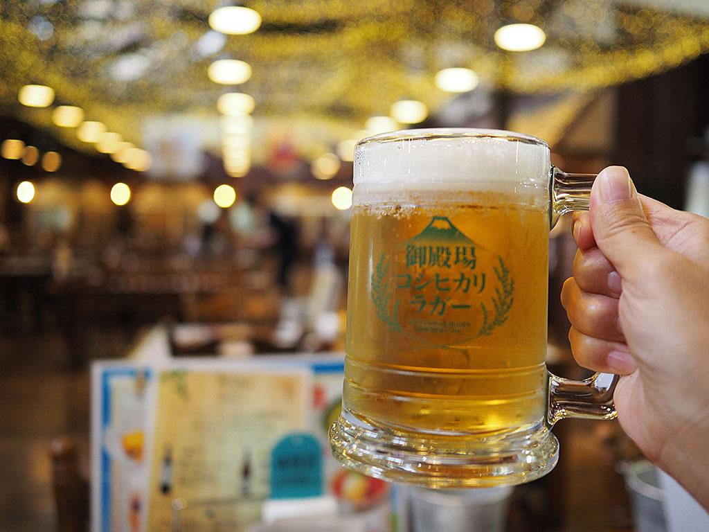 御殿場の地ビール飲み放題も!時之栖「グランテーブル」のランチがお得!