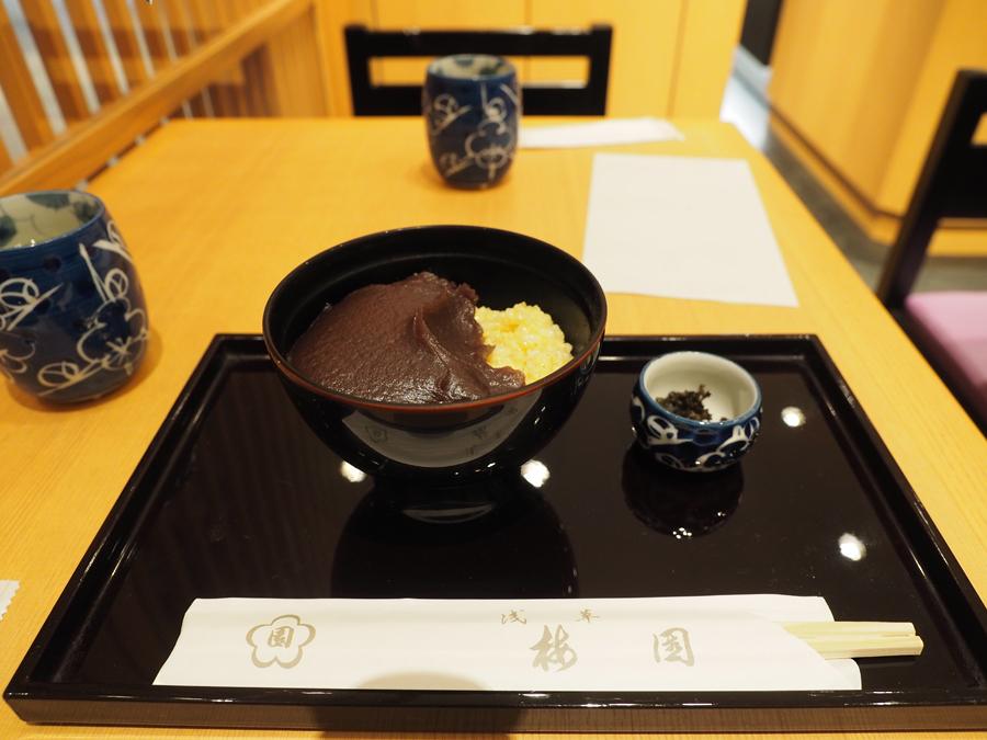 羽田空港「浅草 梅園」で160年続く老舗の味を!