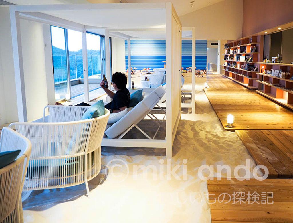 リゾナーレ熱海のカフェが南国みたい!ソラノビーチBooks & Cafe